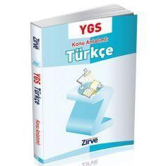 Zirve YGS Türkçe Konu Anlatımlı