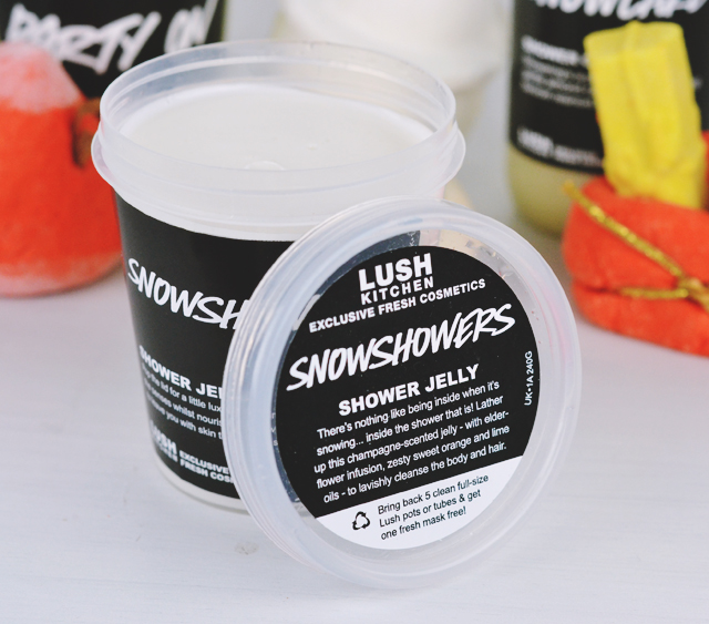 Lush Snowshowers Shower Jelly
