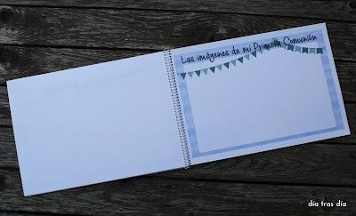 Libro firmas Primera Comunión