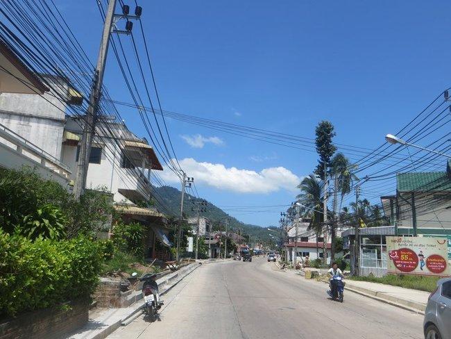 Главная дорога на натоне