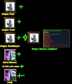 cara mengkombinasikan dragon essence combine