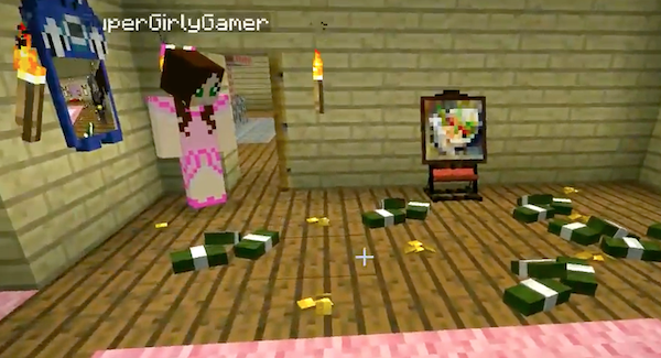 Popularmmos Does Minecraft Furniture Challenge Who Will Decorate The Room Best Mod Showcase Mc News