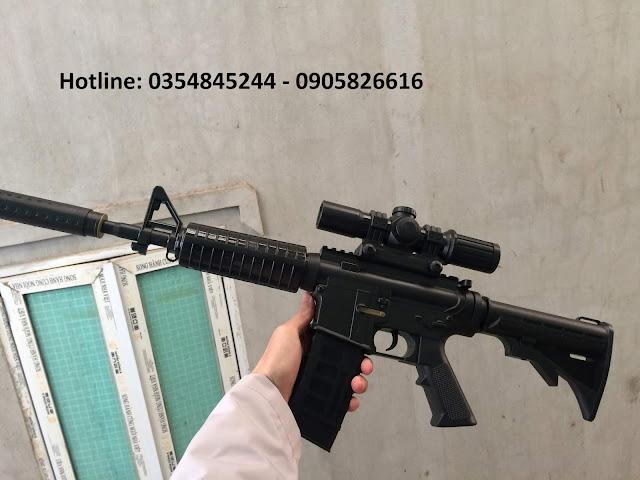 Súng đạn thạch m4a1