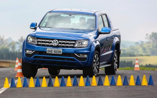 VW Amarok tem taxa zero e Saveiro taxa 0,99% em julho