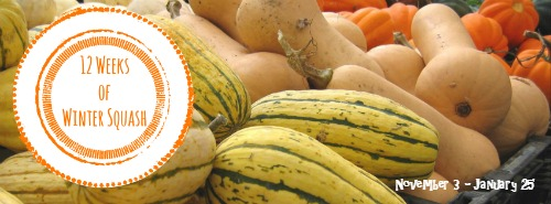 12 Weeks of Winter Squash | #recipes #wintersquash #squash #pumpkin