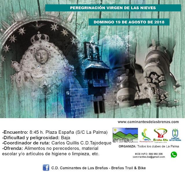 Caminantes de Las Breñas: Domingo 19 de Agosto: Peregrinación Las Nieves