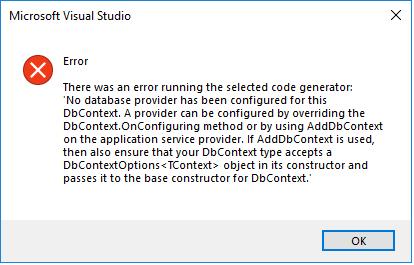 Beau Claar: C# ASP NET Core 2 0 error running selected code