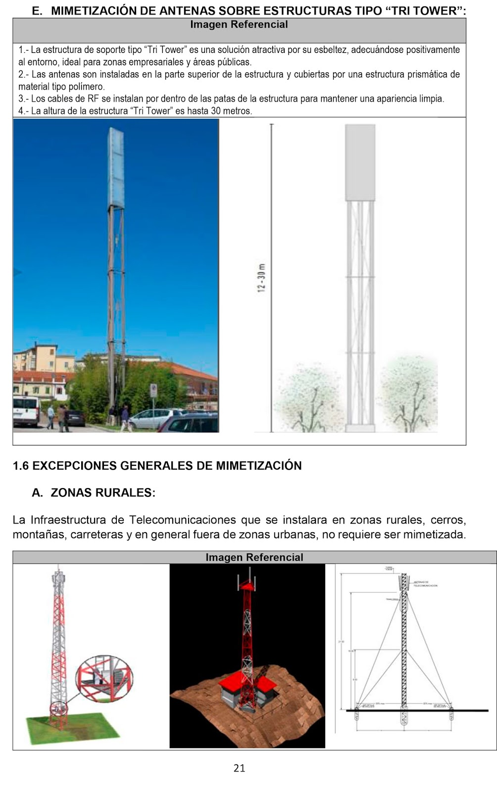 ANTENAS TRI TOWER