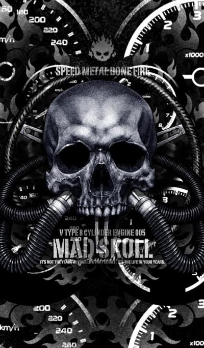 Mad skull v8 005