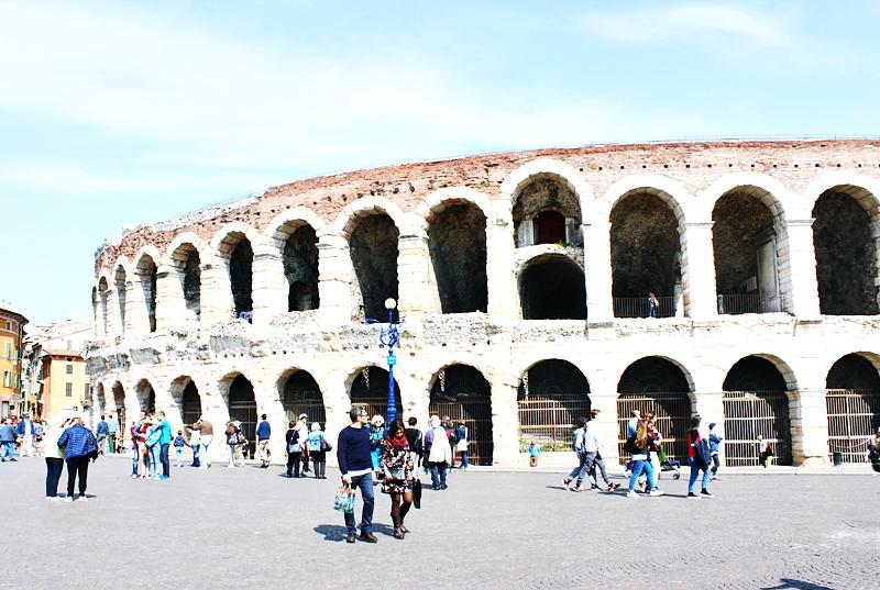 Verona rimski amfiteatar Arena di Verona