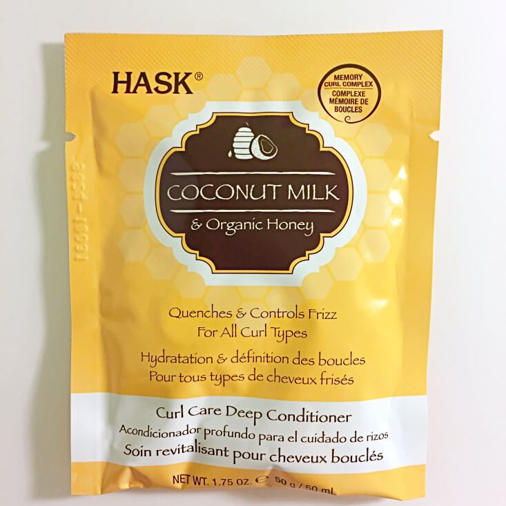 Hask Coconut Milk and Organic Honey Curl Care Deep Conditioner