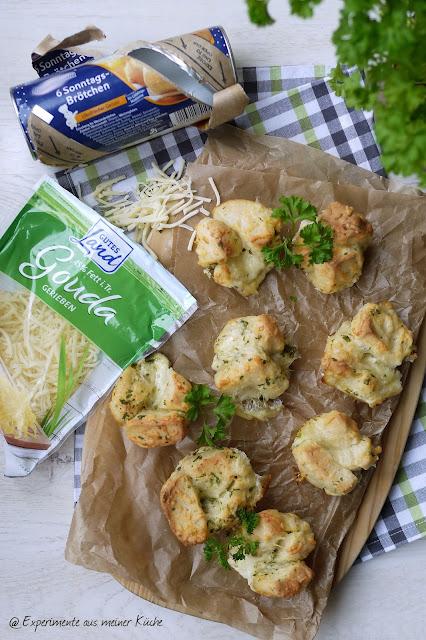 Experimente aus meiner Küche: Pull-Apart-Käse-Muffins