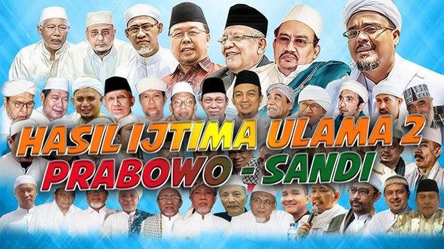 Catat! Prabowo-Sandi Tak Punya Track Record Memusuhi Islam ataupun Kriminalisasi Ulama