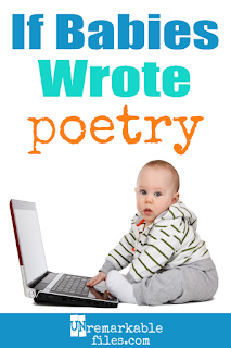 Can't get enough cute baby and newborn humor? This hilarious post is all about what would happen if babies wrote poetry, and I'm STILL laughing at the baby haiku! #baby #parentinghumor #funny