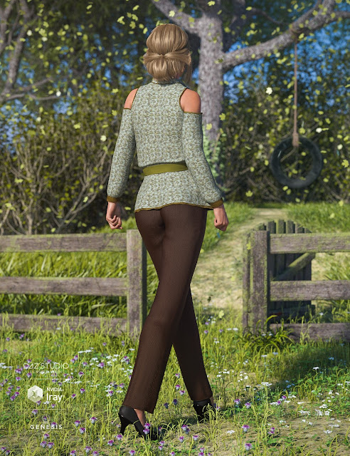 dForce Casual Me for Genesis 8 Female