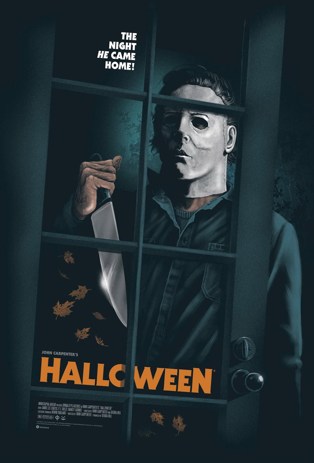 Halloween par Gary Pullin (2018, Canada) / Sérigraphie en