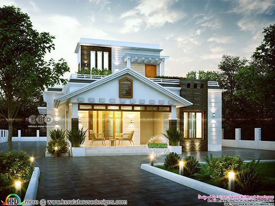 1451 square feet modern contemporary home