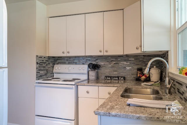 a renovated kitchen at a home for sale in Denver Colorado