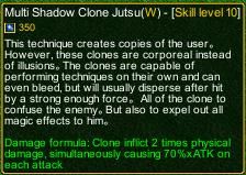 naruto castle defense 6.0 naruto Multi Shadow Clone Jutsu detail