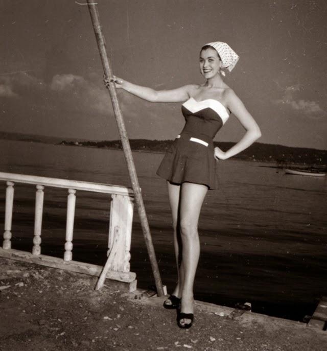 Beautiful Norwegian Women S Summer Fashion In The 1950s
