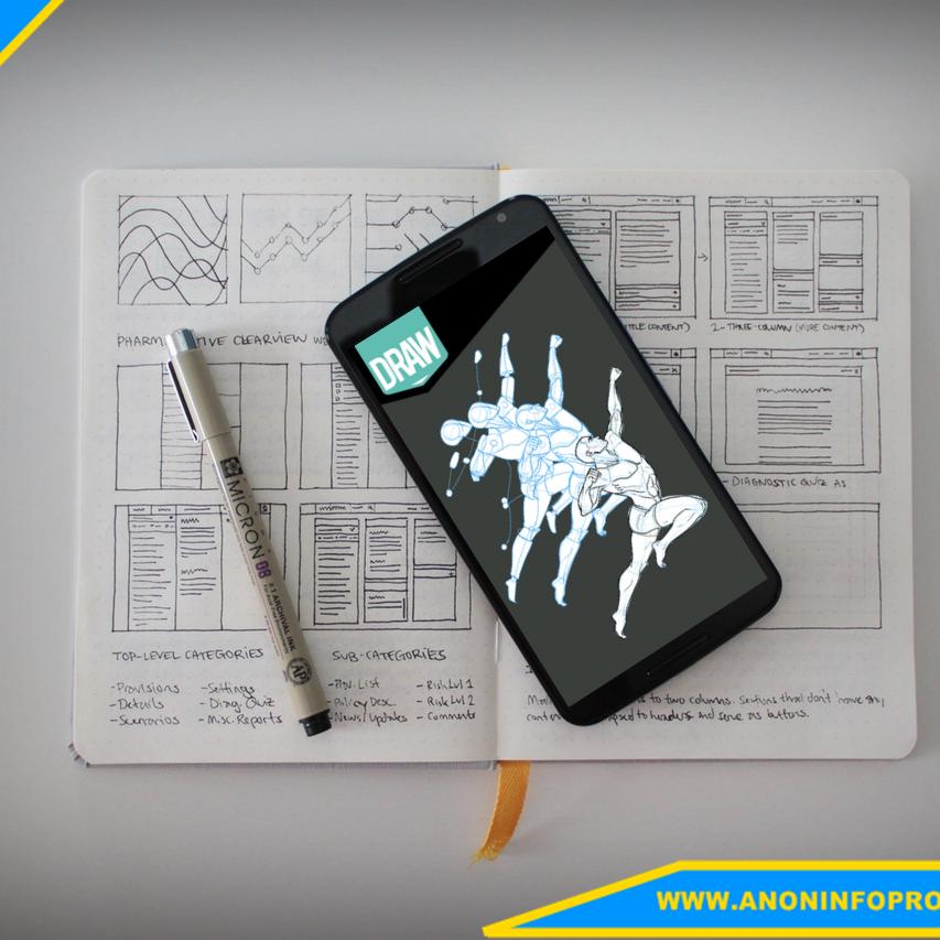تطبيق LEARN HOW TO DRAW لتعلم الرسم على أجهزة أندرويد