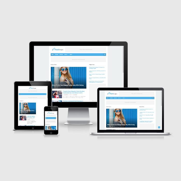 Jual Template Blogger Blog Simple Fast Loading - Elegant Desain
