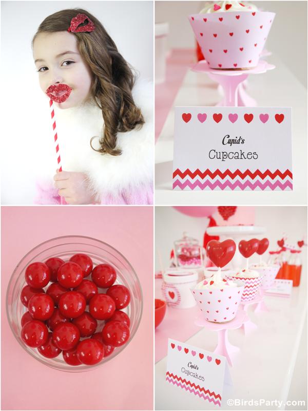 Vidéo | Sweet Table Rose et Rouge pour la St Valentin | BirdsParty.fr