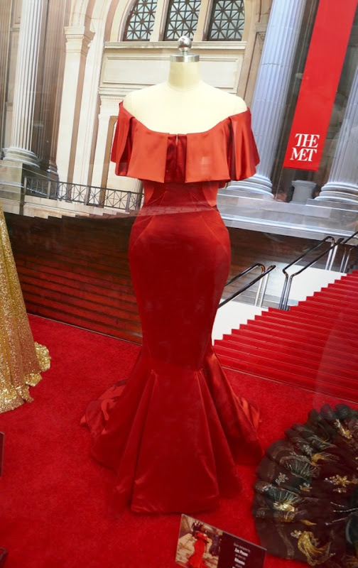 Rihanna Oceans 8 Met Gala Zac Posen gown