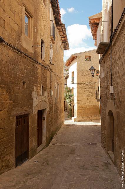 Uncastillo pueblos medieval Zaragoza Cinco Villas