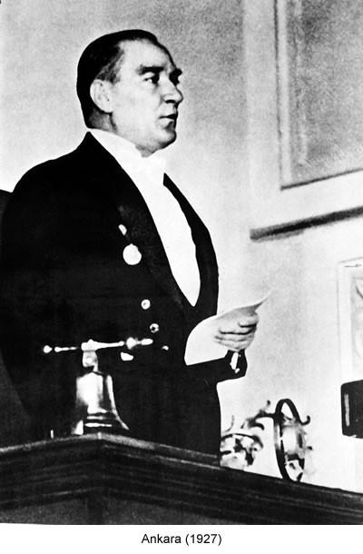 Atatürk Ankara 1927 Fotoğraf