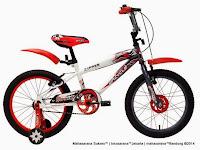 Sepeda Anak Wimcycle Boy Zipper 18 Inci