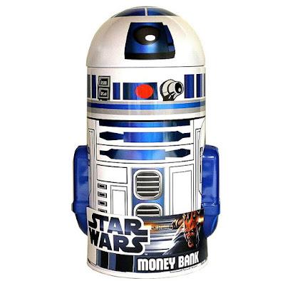 R2-D2 Tin Bank