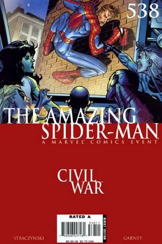 Civil War: Amazing Spider-Man #538 PDF
