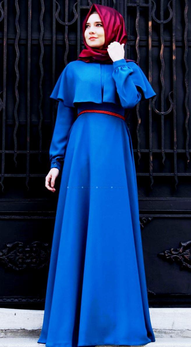 model gaun muslim 25 trend model baju muslim lebaran 2018