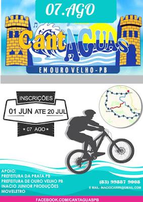 CantÀguas realiza evento de Bike em Agosto