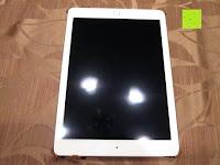iPad im Case: Leicke MANNA Schutzhülle Apple iPad Air 2 braun