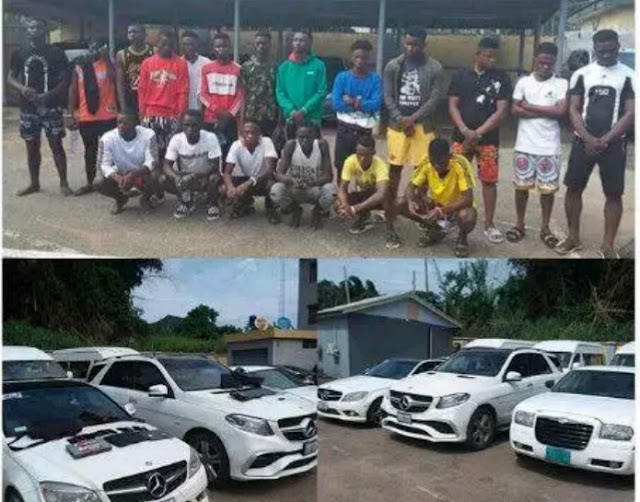 EFCC Apprehends Another Set Of Yahoo Boys In Delta