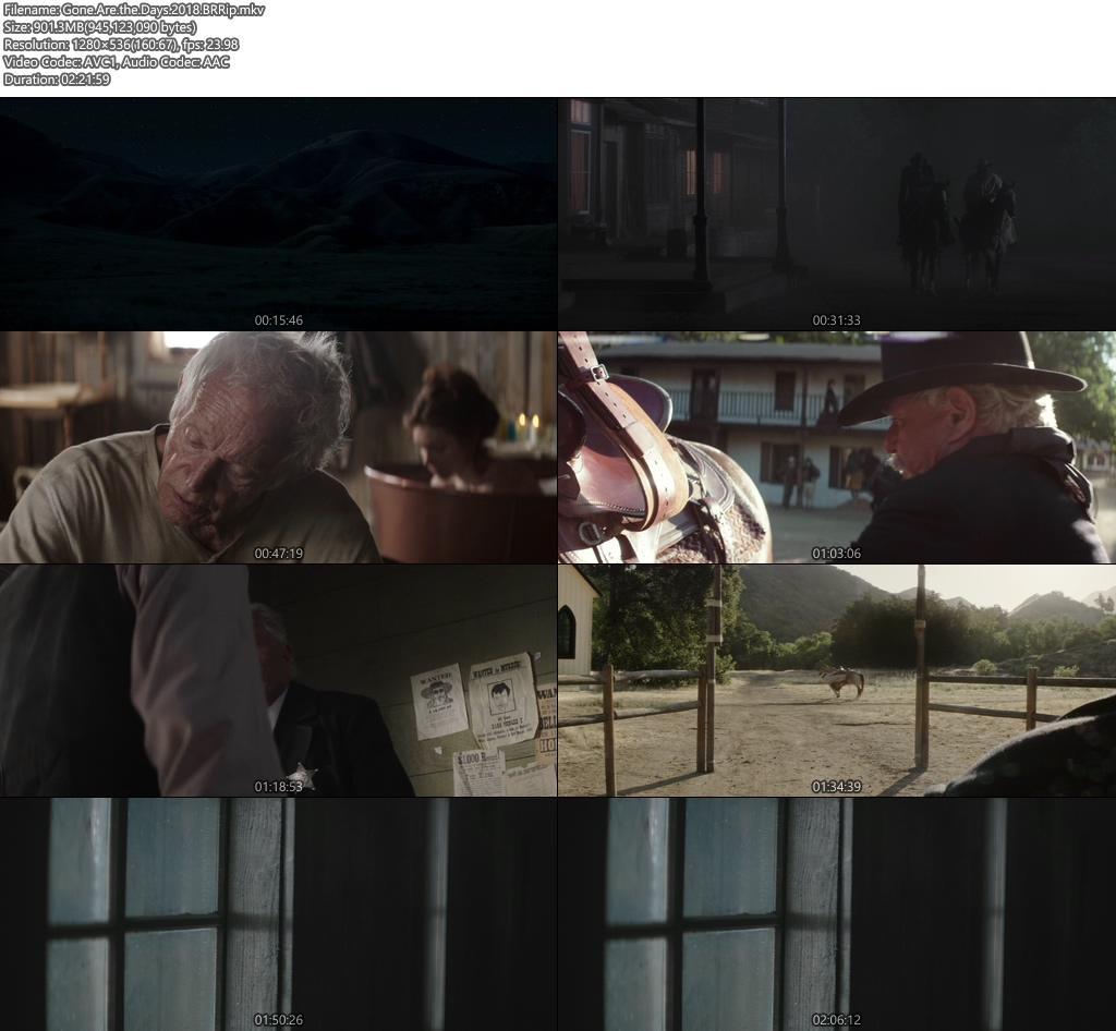 Gone Are the Days 2018 BRRip | 480p 400MB | 20MB HEVC Screenshot