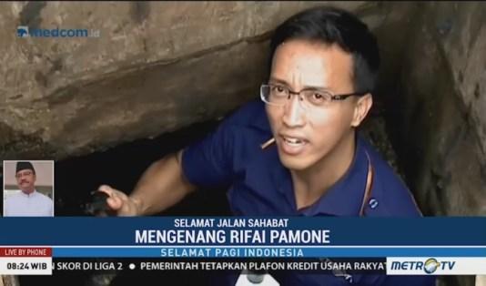 Jurnalis Berduka, Rifai Pamone, Metro TV Tutup Usia