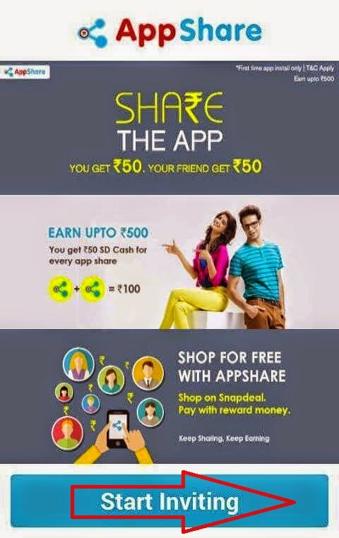 Snapdeal offer - Free ₹50 Snapdeal Cash + Free ₹50 Per Refer nkworld4u