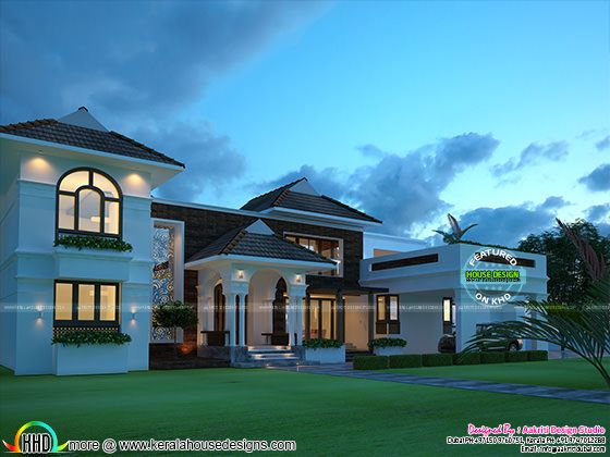 410 sq-yd superb home architecture