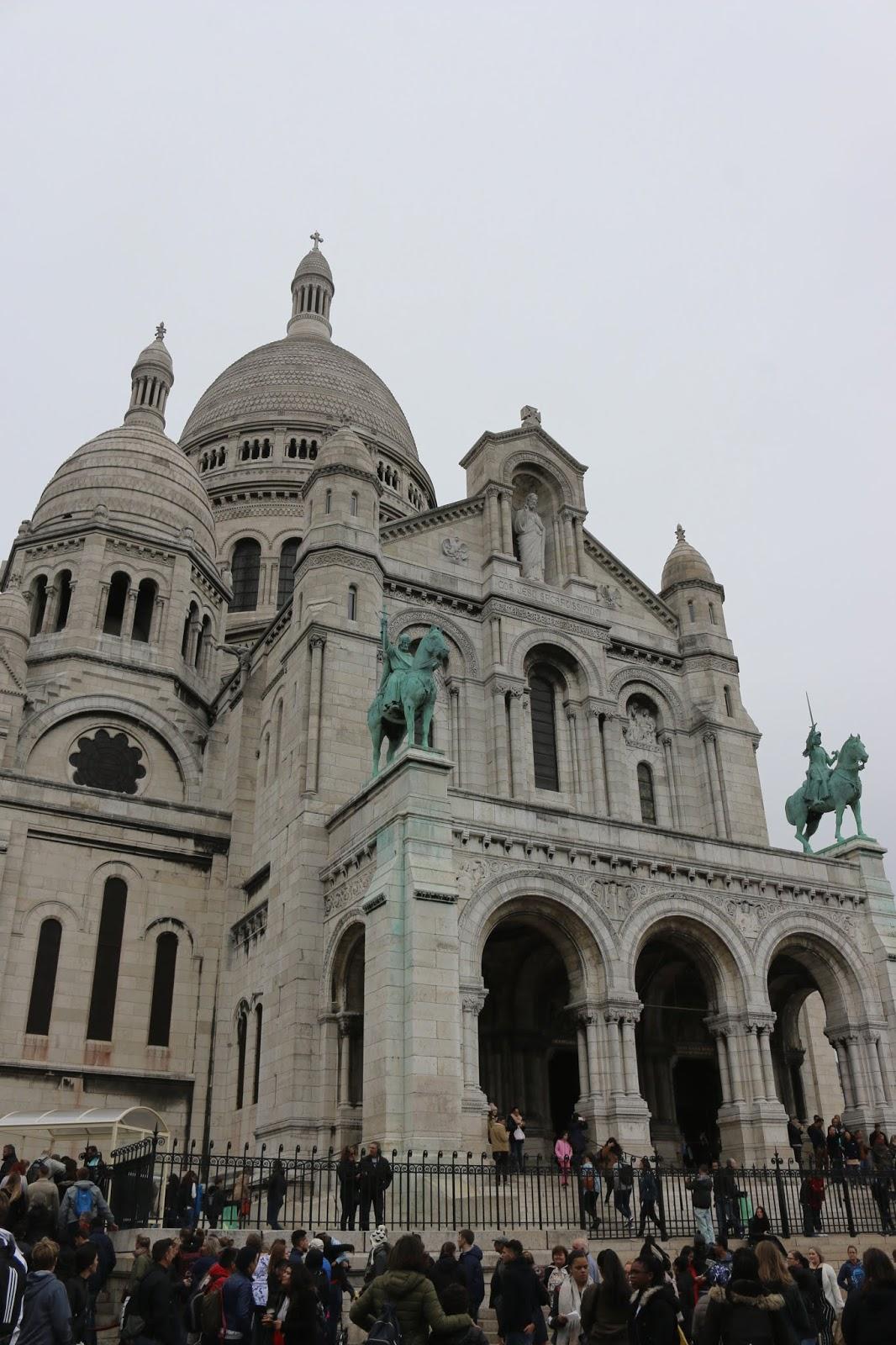Paris Basilique du Sacré-Coeur de Montmartre