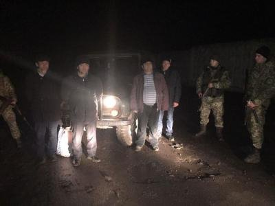 Прикордонники затримали трьох іноземців на кордоні