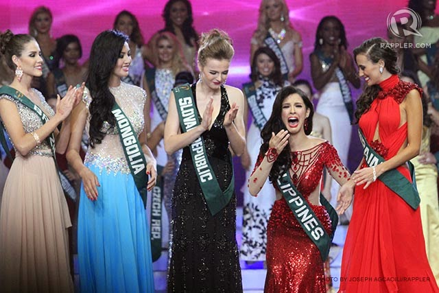 SASHES AND TIARAS..Miss Earth 2017 Finals: Winner, GOWN