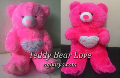 Boneka Beruang Love agbasya