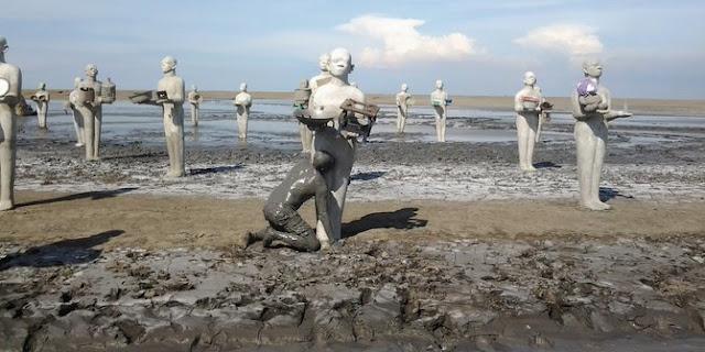 Destinasi Wisata Lumpur Lapindo Di Sidoarjo Yang Menawarkan Spot Foto Kekinian