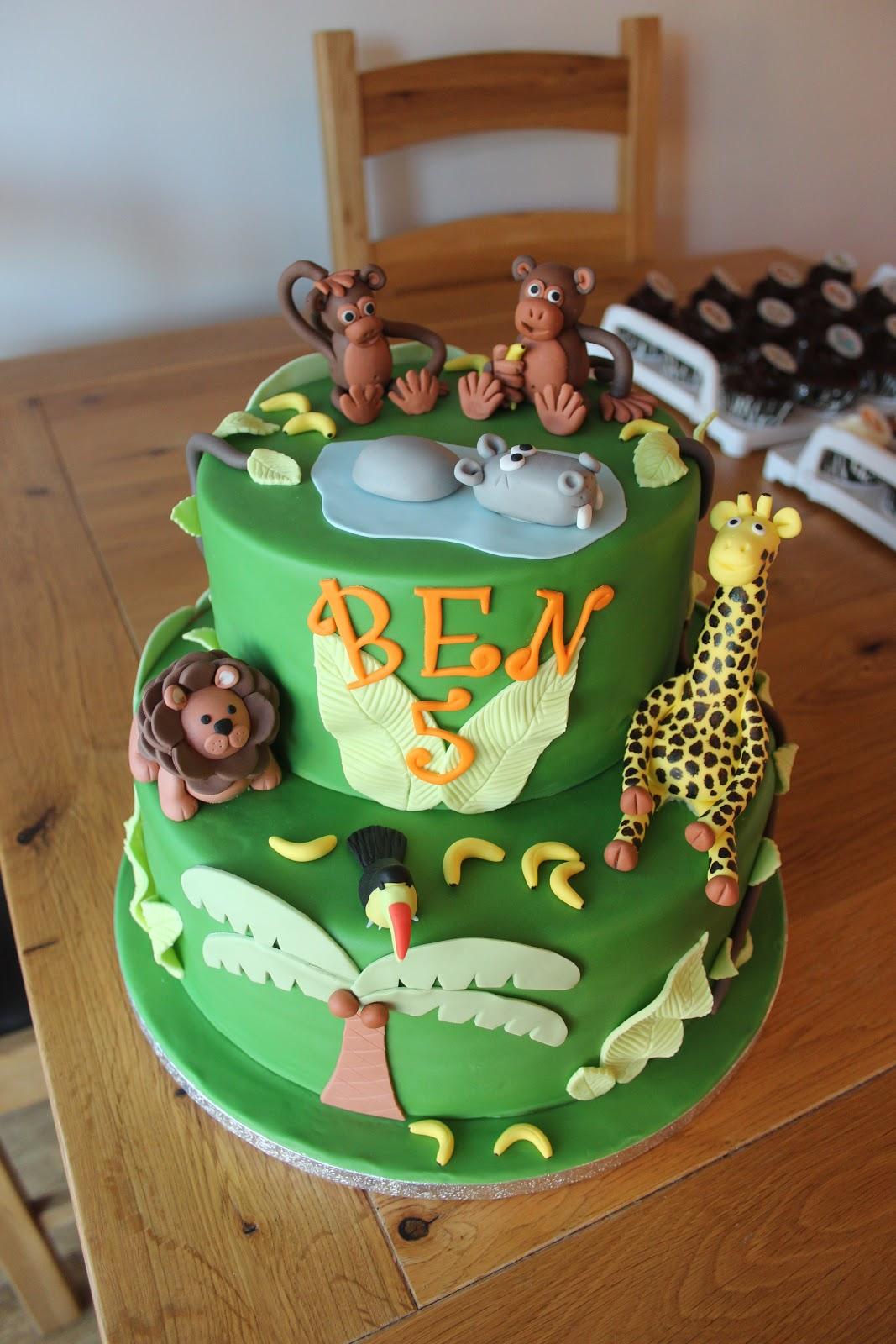 Animal Safari Cake The Cake Escape