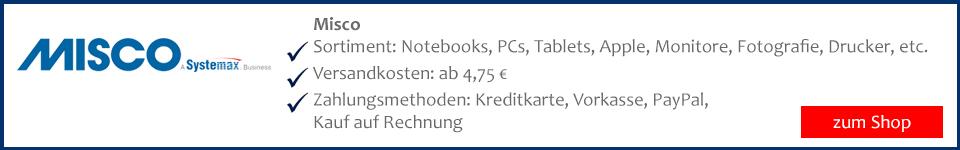 Misco Laptop und Notebook auf Rechnung bestellen und sicher kaufen