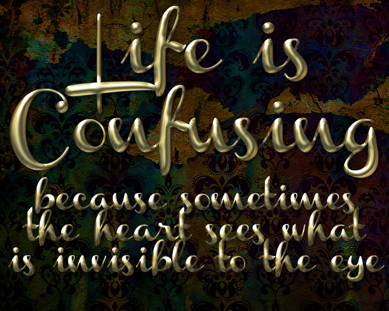 Life Is Confusing Quotes. QuotesGram
