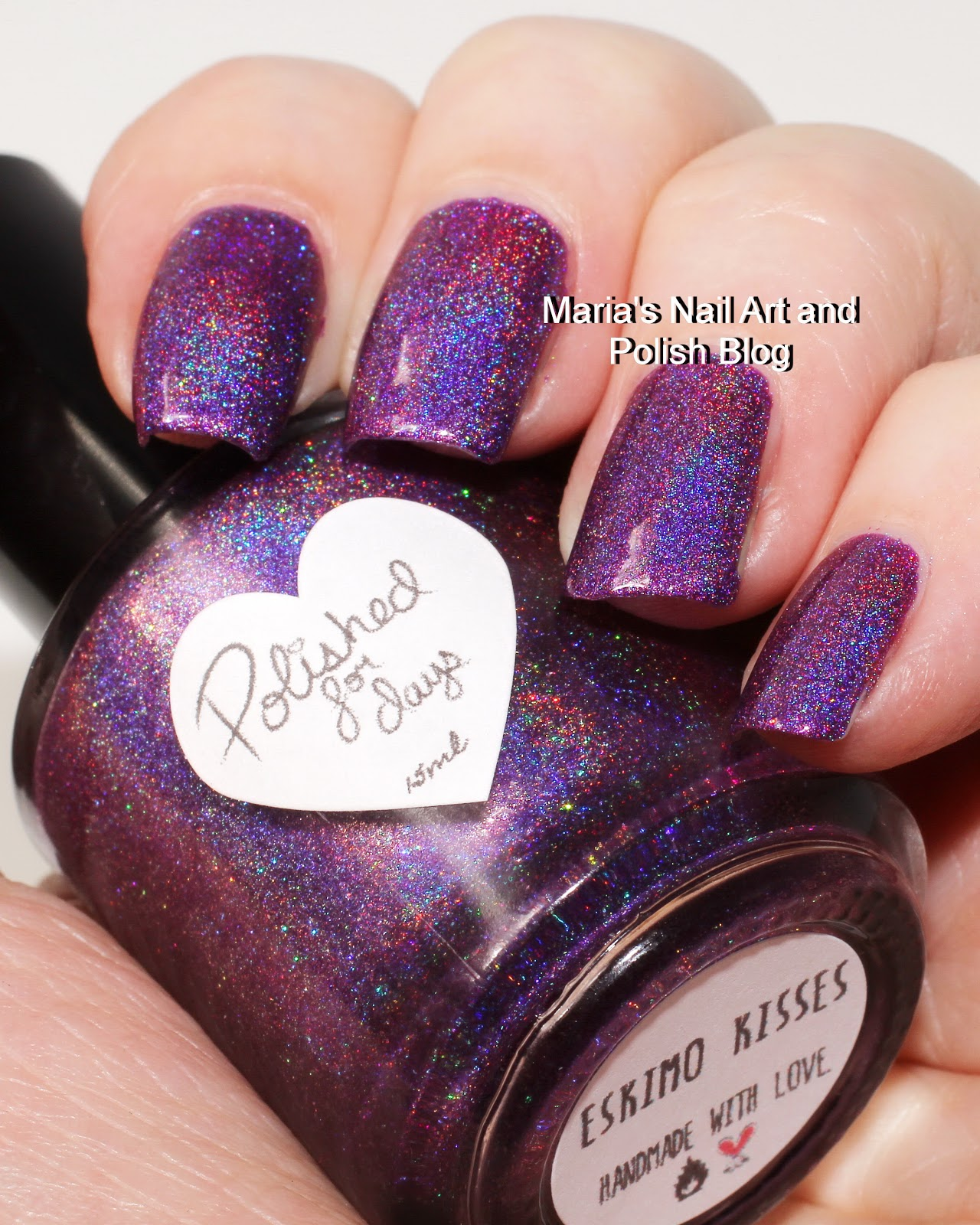 Marias Nail Art and Polish Blog: Polished For Days Eskimo Kisses and ...
